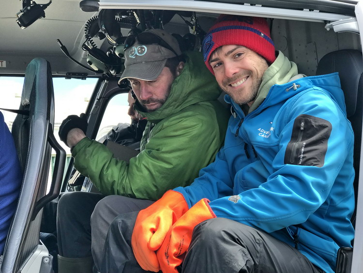 Shawn and Nick heading out to Gull Island - Abbott's Harbour - April 25, 2019 - Ted D'Eon photo