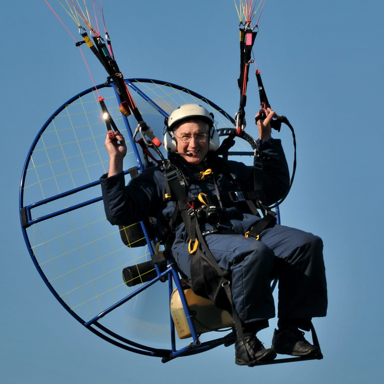 Powered Paraglider Log - Ted D'Eon